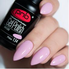 Гель лак PNB №134 (холодный розовый, эмаль)