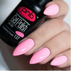 Гель лак PNB №137 (cветло-розовый, эмаль)