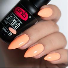 Гель лак PNB №139 (оранжево-персиковый, эмаль)
