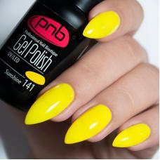Гель лак PNB №141 (желтый, эмаль)