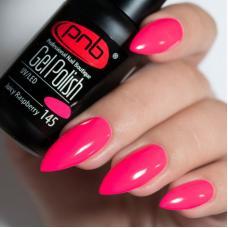 Гель лак PNB №145 (малиново-розовый, эмаль)