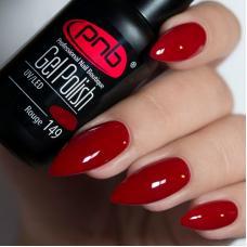 Гель лак PNB №149 (бордовый, эмаль)