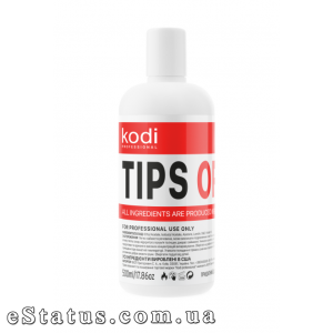 Kodi Tips Off (жидкость для снятия гель лака/акрила) 500 мл