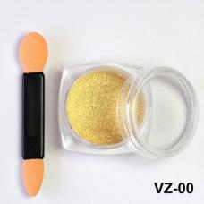 Зеркальная втирка золото VZ-00