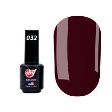 Гель лак My Nail № 032 (темно-бордовый), 8.5 мл