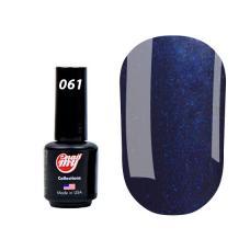 Гель-лак My Nail №061 (насыщенный темно-синий с микроблеском), 8.5 мл