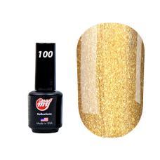 Гель лак My Nail № 100 (золото с мелкой блесткой), 8.5 мл