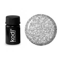 Гель краска Kodi №27, серебро (4 мл)