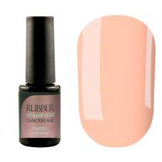 Гель-лак Naomi Rubber Comouflage Base Coat №02 (карамельный, полупрозрачный), 6 мл