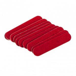 Пилочки одноразовые красные 4.7 см (10шт)