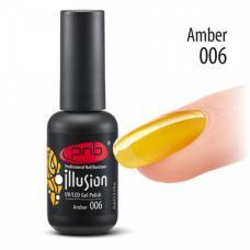 Гель-лак PNB Illusion № 006 Amber, 8 мл