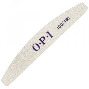 Пилка для ногтей O.P.I 100/180, полукруг