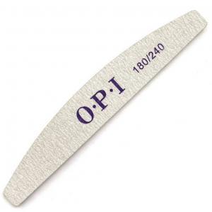 Пилка для ногтей O.P.I 180/240, полукруг