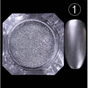 Зеркальная втирка №1 (серебро)