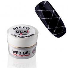 Гель паутинка GGA Web-Gel №02 (Серебро), 5 мл