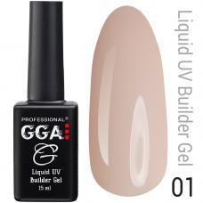 Жидкий гель GGA Liquid Builder Gel №1, 15 мл