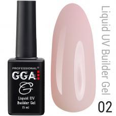 Жидкий гель GGA Liquid Builder Gel №2, 15 мл