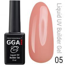 Жидкий гель GGA Liquid Builder Gel №5, 15 мл