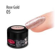 Гель-паста PNB «Star Way», 05 Розовое золото, 5 мл