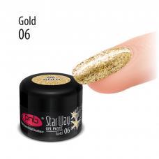 Гель-паста PNB «Star Way», 06 Золото, 5 мл