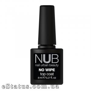 Топ без липкого слоя NUB No Wipe Top Coat, 8 мл
