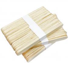 Шпатель-лопатка для депиляции, деревянная (15 см), 50 шт.