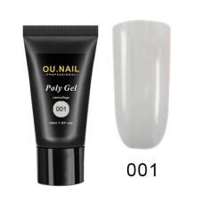 Полигель/Poly gel OU.Nail №001,30 мл