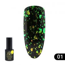 Гель лак Global Fashion Chameleon Flake №1