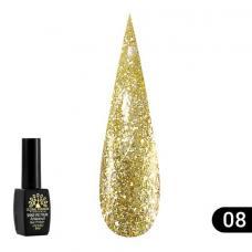 Гель лак Global Fashion Shine Spektrum (блестки) №308