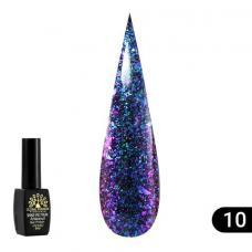 Гель лак Global Fashion Shine Spektrum (блестки) №310