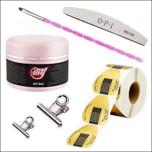 Набор для наращивания ногтей гелем My Nail