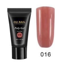Полигель/Poly gel OU.Nail №016,30 мл