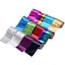Набор переводной фольги для ногтей, 12 шт/в упаковке