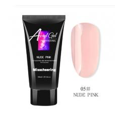 Полигель/Poly gel Misschering №05 nude pink, 30 мл