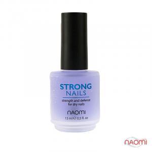Средство для укрепления ногтей Naomi Strong Nails, 15 мл