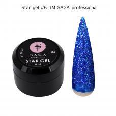 Звездный гель SAGA №6