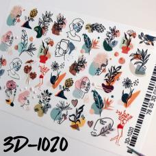 Объемный слайдер-дизайн 3D-1020