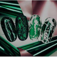 """Фольга для дизайна ногтей """"Зеленая"""""""
