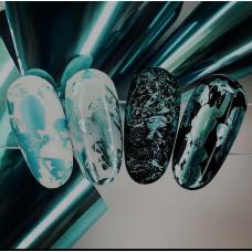 """Фольга для дизайна ногтей """"Бирюза"""""""