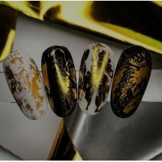 """Фольга для дизайна ногтей """"Золото"""""""