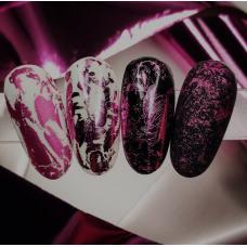 """Фольга для дизайна ногтей """"Розовая"""""""