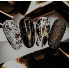 """Фольга для дизайна ногтей """"Шоколад"""""""