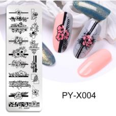 Диск для стемпинга PY-X004