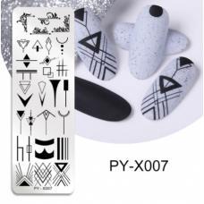 Диск для стемпинга PY-X007