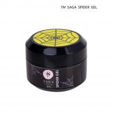 Гель-паутинка Saga Spider Gel (неоновый жёлтый), 8 мл