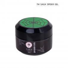 Гель-паутинка Saga Spider Gel (неоновый зеленый), 8 мл