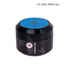 Гель-паутинка Saga Spider Gel (неоновый голубой), 8 мл