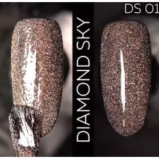 Гель лак Светоотражающий / Kodi Diamond Sky № 01 DS, 7 мл