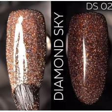 Гель лак Светоотражающий / Kodi Diamond Sky № 02 DS, 7 мл