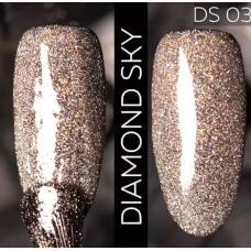 Гель лак Светоотражающий / Kodi Diamond Sky № 03 DS, 7 мл
